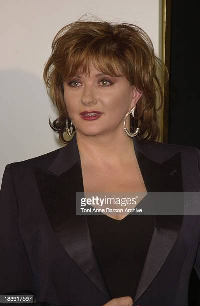 Catherine Jacob during Cesar Awards Ceremony 2002 Press Room at Chatelet Theater in Paris France