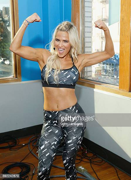 Catherine Joy Perry' Lana' attends Tapout Fitness WWE special event at Tapout Fitness on August 19 2016 in New York City