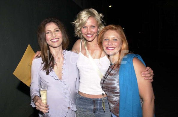 Catherine Keener Cameron Diaz and Camerons sister Chimene Diaz   WireImage Portugal   85586538