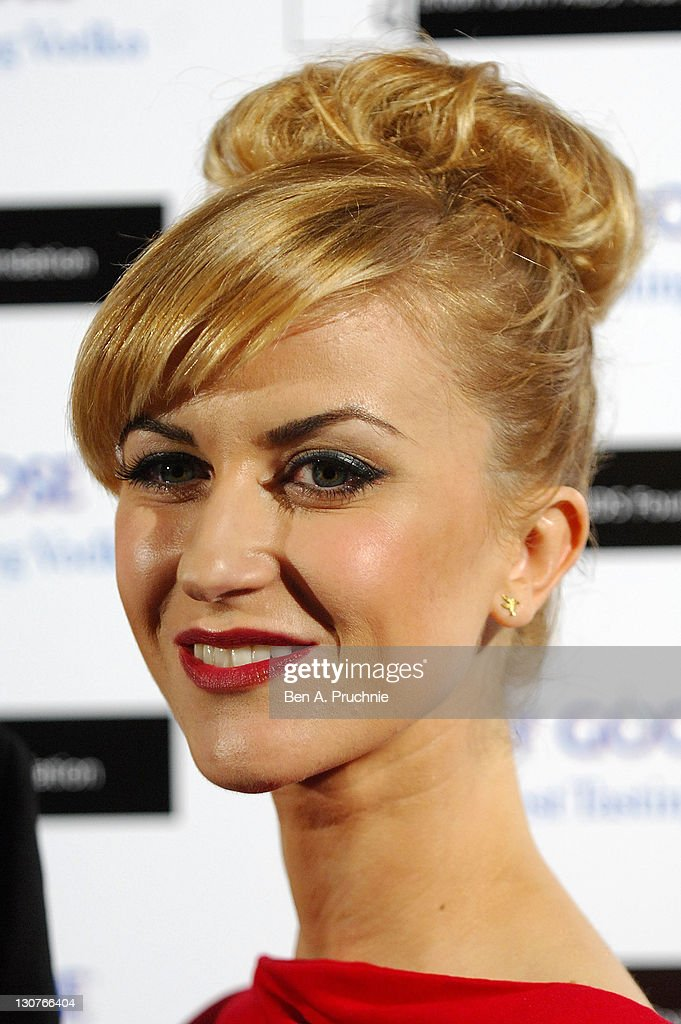 Catherine Kelly attends the Grey Goose Winter Ball at Battersea Park on October 29, 2011 in London, England.