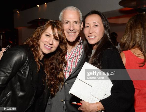 Catherine Kimmel Kevin Salatino and Carol ChengMayer attend the ...