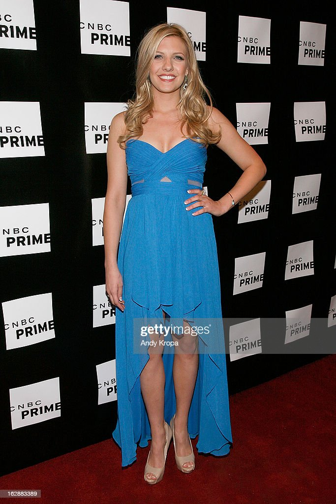 Catherine Knebel attends the CNBC Prime Premiere Launch at Classic Car Club on February 28, 2013 in New York City.