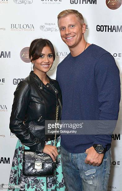 Catherine Lowe and Sean Lowe at Gotham Magazine Celebrates September Cover Star Elisabeth Moss At Tender Restaurant at the Sanctuary Hotel on...