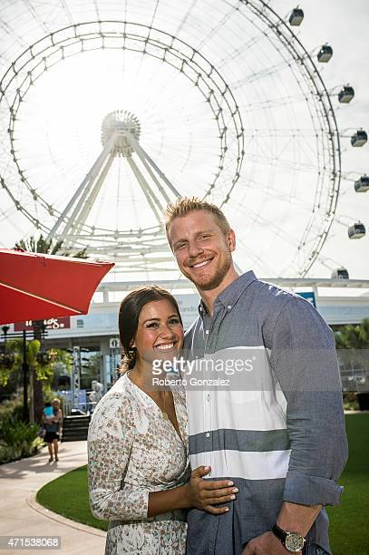 Catherine Lowe and Sean Lowe infront of the Orlando Eye IDrive 360home of the new Orlando Eyecelebrated its grand opening with a recordbreaking walk...