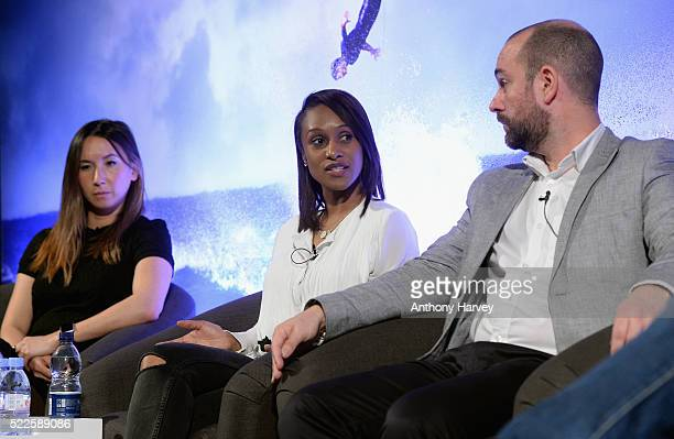 Catherine Lui Brand Partnerships at Gleam Futures Athena Witter Head of Entertainment Soaps Drama at ITV and Richard Howard Publisher and Brand Owner...
