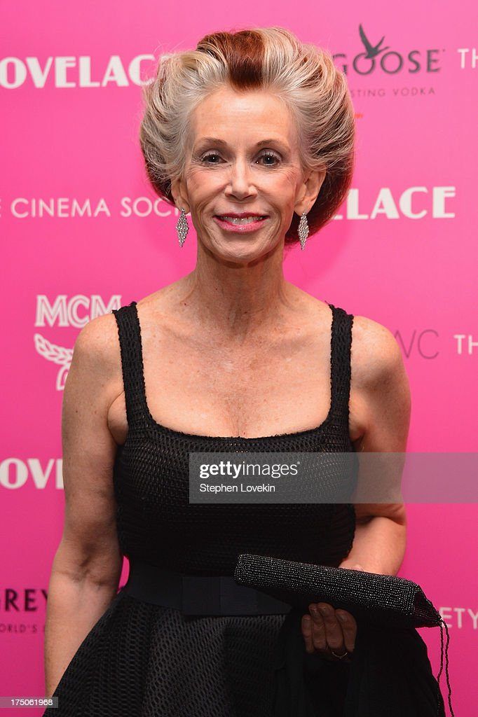 Catherine MacKinnon attends The Cinema Society and MCM with Grey Goose screening of Radius TWC's 'Lovelace' at MoMA on July 30, 2013 in New York City.