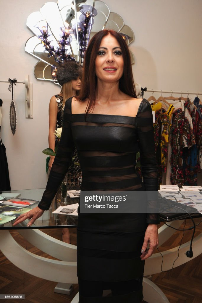 Catherine Malandrino attends Russian Fashion Festival on November 14, 2012 in Milan, Italy.