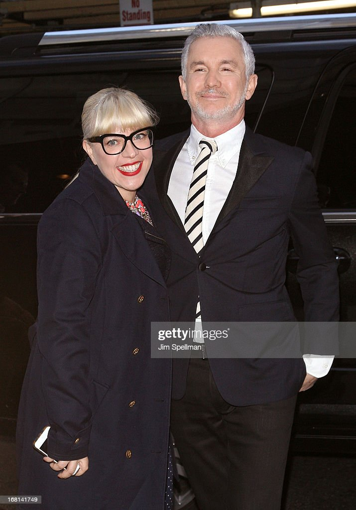 Catherine Martin and director Baz Luhrmann attend 'The Great Gatsby' Special Screening at Museum of Modern Art on May 5, 2013 in New York City.