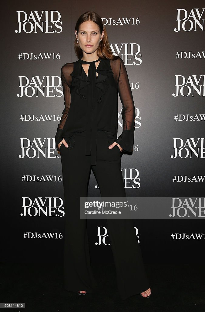 <a gi-track='captionPersonalityLinkClicked' href=/galleries/search?phrase=Catherine+McNeil&family=editorial&specificpeople=737640 ng-click='$event.stopPropagation()'>Catherine McNeil</a> arrives ahead of the David Jones Autumn/Winter 2016 Fashion Launch at David Jones Elizabeth Street Store on February 3, 2016 in Sydney, Australia.
