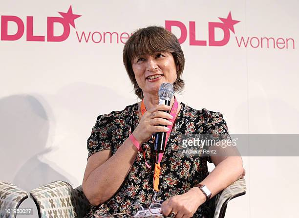 Catherine Millet attends the Digital Life Design women conference at the Centre for New Technologies at Deutsches Museum on June 10 2010 in Munich...
