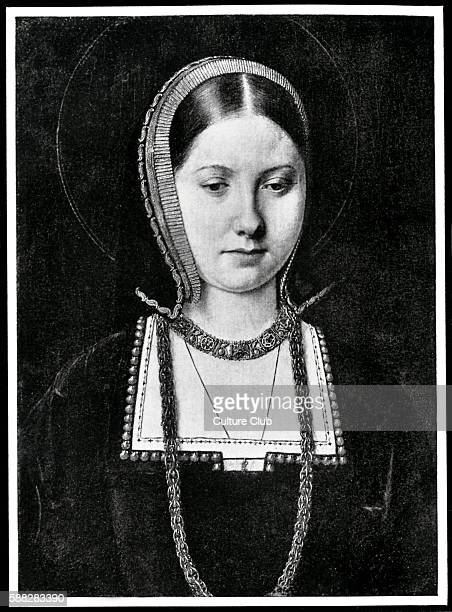 Catherine of Aragon Queen consort of England and first wife of King Henry VIII Marriage annuled in 1533 Portrait by unknown artist