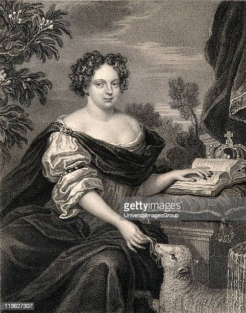 Catherine of Braganza 16381705 Portuguese wife of King Charles II From the book 'Lodge's British Portraits' published London 1823