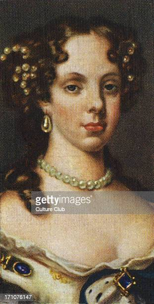 Catherine of Braganza portrait The daughter of the king of Portugal Catherine was married to Charles II in 1662 After his death she returned to...