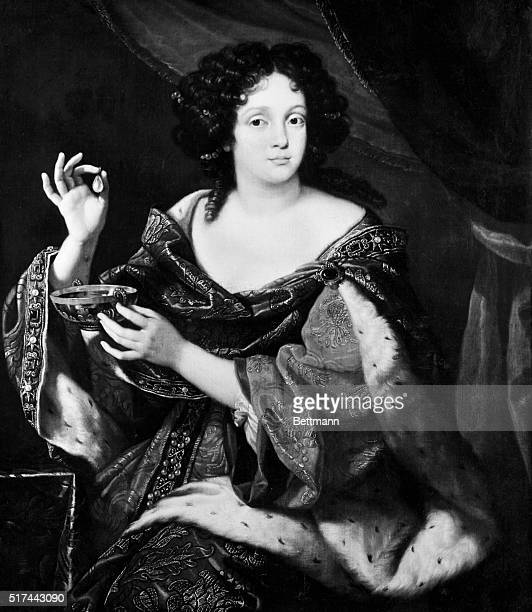 Catherine of Braganza Queen of Charles II Painting attributed to Simon Verelst