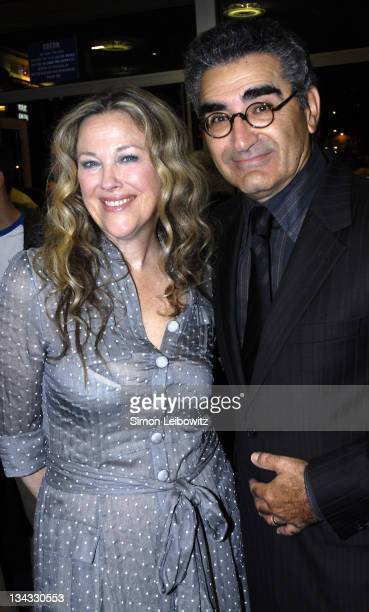 Catherine O'Hara and Eugene Levy during The Times BFI London Film Festival 'For Your Consideration' Premiere at Odeon West End in London Great Britain