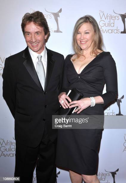 Catherine O'Hara and Martin Short arrive at the 2011 Writers Guild Awards at Renaissance Hollywood Hotel on February 5 2011 in Hollywood California