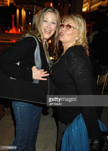 Catherine O'Hara and Rosanne Barr during HBO AEG Live's 'The Comedy Festival' Comic Relief 2006 After Party at Caesars Palace in Las Vegas Nevada...