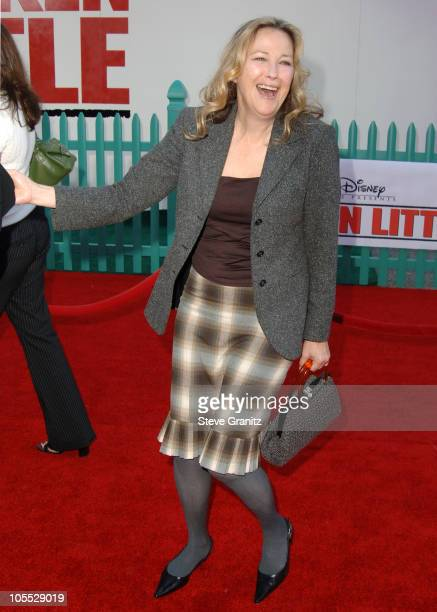 Catherine O'Hara during Disney's 'Chicken Little' Los Angeles Premiere Arrivals at El Capitan in Hollywood California United States