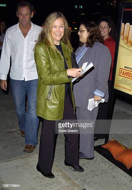 Catherine O'Hara during 'Fahrenheit 9/11' Special Screening's at AMPAS and Music Hall Theatre Arrivals at Academy Theatre and Music Hall Theatre in...