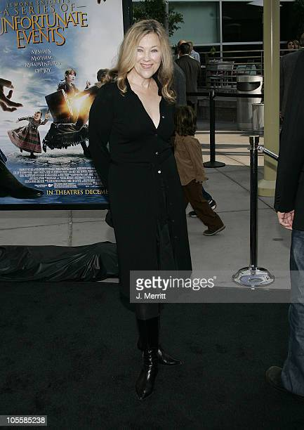 Catherine O'Hara during 'Lemony Snicket's A Series Of Unfortunate Events' World Premiere Arrivals at Grauman's Chinese Theater in Hollywood...
