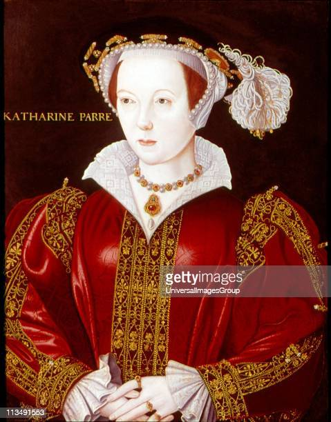 Catherine Parr Sixth and last wife of Henry VIII Anonymous portrait c1545
