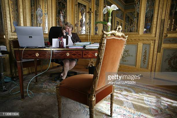 Catherine Pegard In Her Office At Elysee Palace In Paris France On June 18 2007