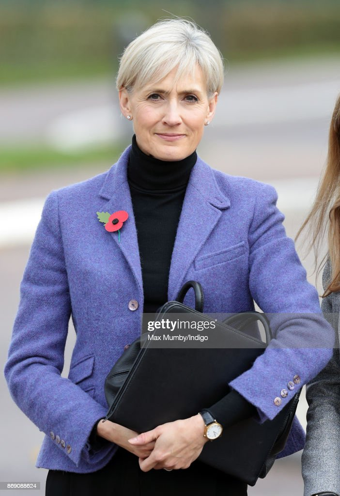 Catherine Quinn (Private Secretary to Catherine, Duchess of Cambridge) seen during a visit by The Duchess of Cambridge to the Lawn Tennis Association at the National Tennis Centre on October 31, 2017 in London, England. The Duchess of Cambridge became Patron of the LTA in December 2016.