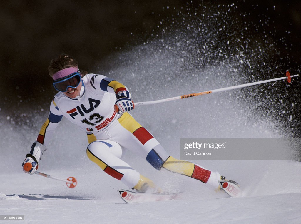 Catherine Quuittet of France during the International Ski Federation Women's Giant Slalom at the FIS Alpine World Ski Championship event on 5...