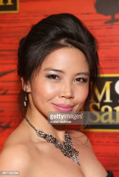 Catherine Ricafort attends The Opening Night After Party for the New Broadway Production of 'Miss Saigon' at Tavern on the Green on March 23 2017 in...