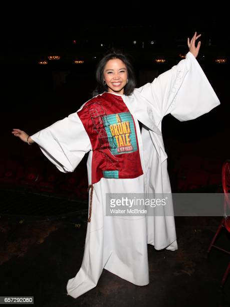 Catherine Ricafort during The Opening Night Actors' Equity Gypsy Robe Ceremony honoring Catherine Ricafort for the New Broadway Production of 'Miss...