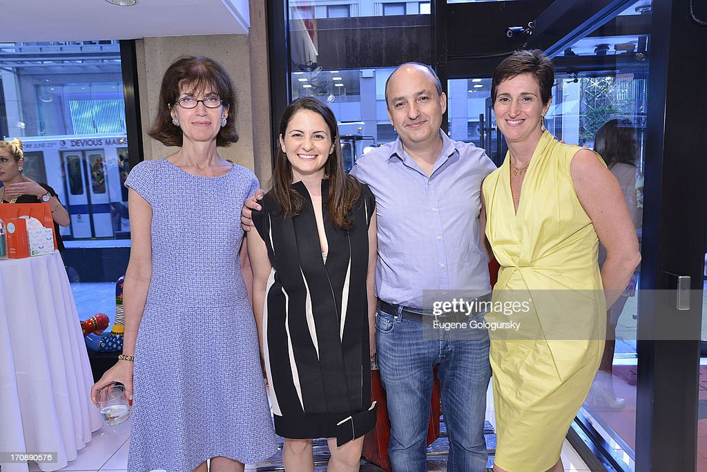 Catherine Sabino, Catia Klimovsky, Guy Martinovsky and Suzanne Ruffa attend the Gotham Magazine Celebration of Its Featured Amazing Faces Of NYC Beauties on June 19, 2013 in New York City.
