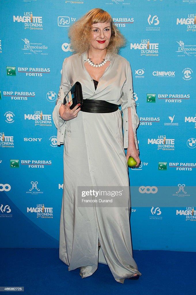 Catherine Salee attends 'Les Magritte Du Cinema 2014' at Square Brussels on February 1, 2014 in Brussel, Belgium.