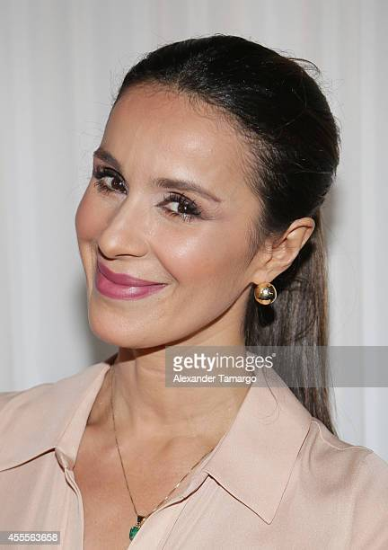 Catherine Siachoque attends The Israel Ministry of Tourism Reception at Briza on the Bay on September 16 2014 in Miami Florida