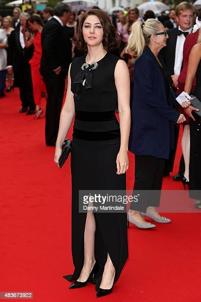 Catherine Steadman attends as BAFTA celebrate 'Downton Abbey' at Richmond Theatre on August 11 2015 in Richmond England