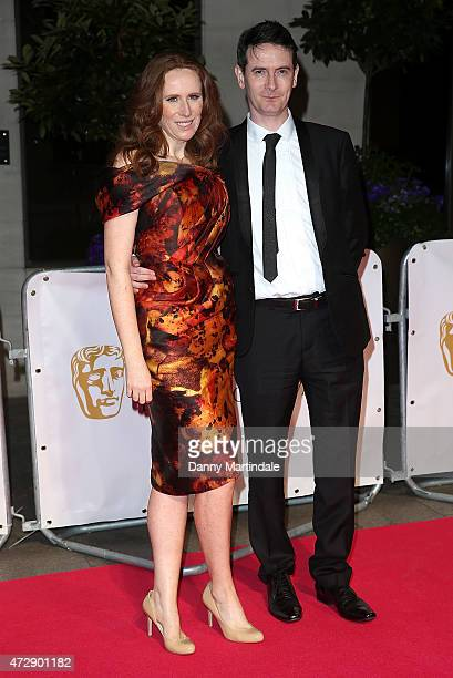 Catherine Tate and friend attends the After Party dinner for the House of Fraser British Academy Television Awards at The Grosvenor House Hotel on...