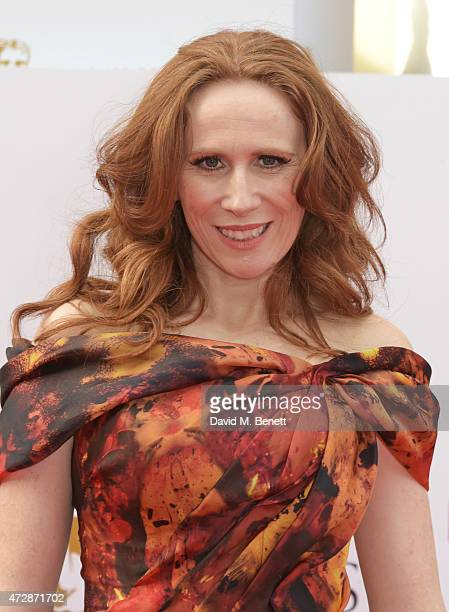 Catherine Tate attends the House of Fraser British Academy Television Awards at Theatre Royal Drury Lane on May 10 2015 in London England
