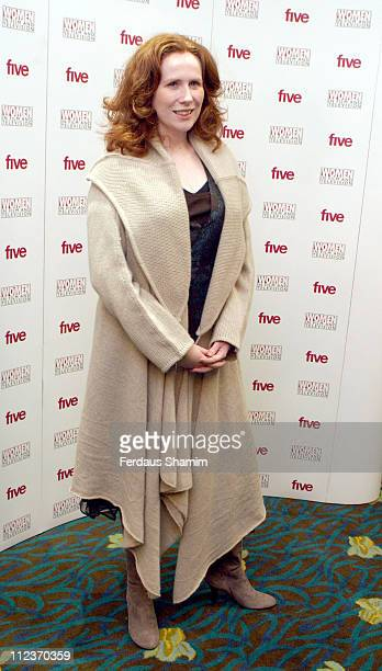 Catherine Tate during 2005 Women in Film and Television Awards at Hilton Park Lane in London Great Britain
