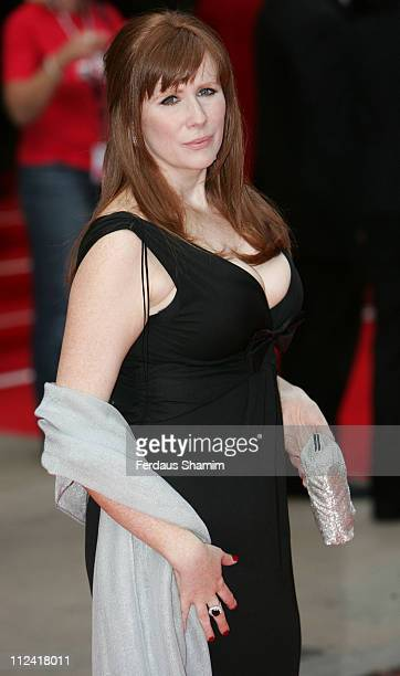 Catherine Tate during 2007 British Academy Television Awards Red Carpet Arrivals at London Palladium in London United Kingdom