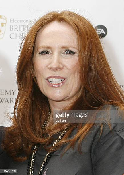 Catherine Tate poses in the press room at the 'EA British Academy Children's Awards 2009' at The London Hilton on November 29 2009 in London England