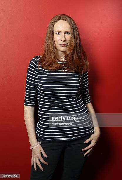Catherine Tate poses onstage as the BFI celebrates 50 years of Doctor Who with special screenings of 'Doctor Who The Stolen Earth' and 'Doctor Who...