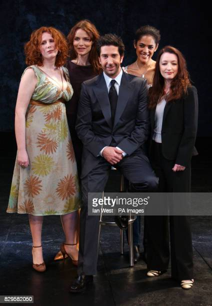 Catherine Tate Saffron Burrows David Schwimmer Sara Powell and Lesley Manville
