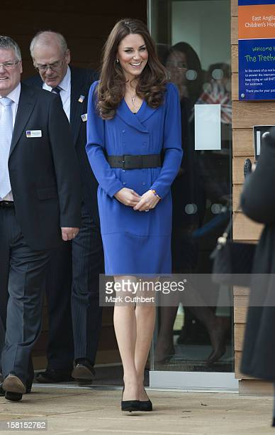 Catherine The Duchess Of Cambridge Royal Patron Of East Anglias Childrens Hospices Visits The Treehouse A Hospice Run By Each In Ipswich To Formally...
