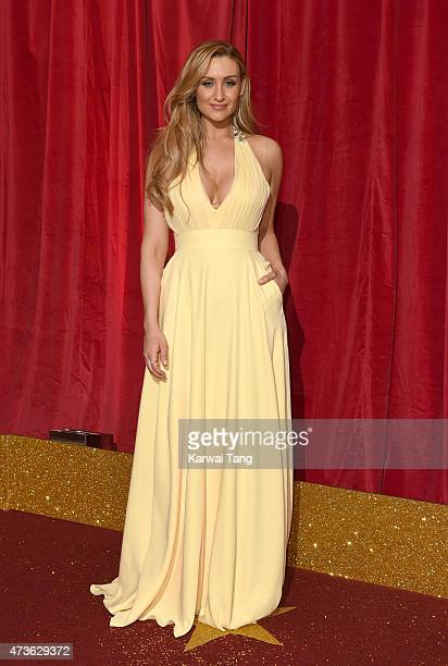 Catherine Tyldesley attends the British Soap Awards at Manchester Palace Theatre on May 16 2015 in Manchester England