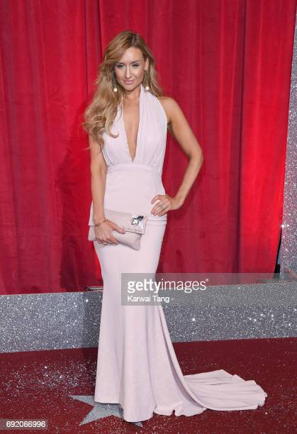 Catherine Tyldesley attends the British Soap Awards at The Lowry Theatre on June 3 2017 in Manchester England