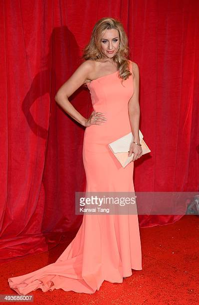 Catherine Tyldesley attends the British Soap Awards held at the Hackney Empire on May 24 2014 in London England