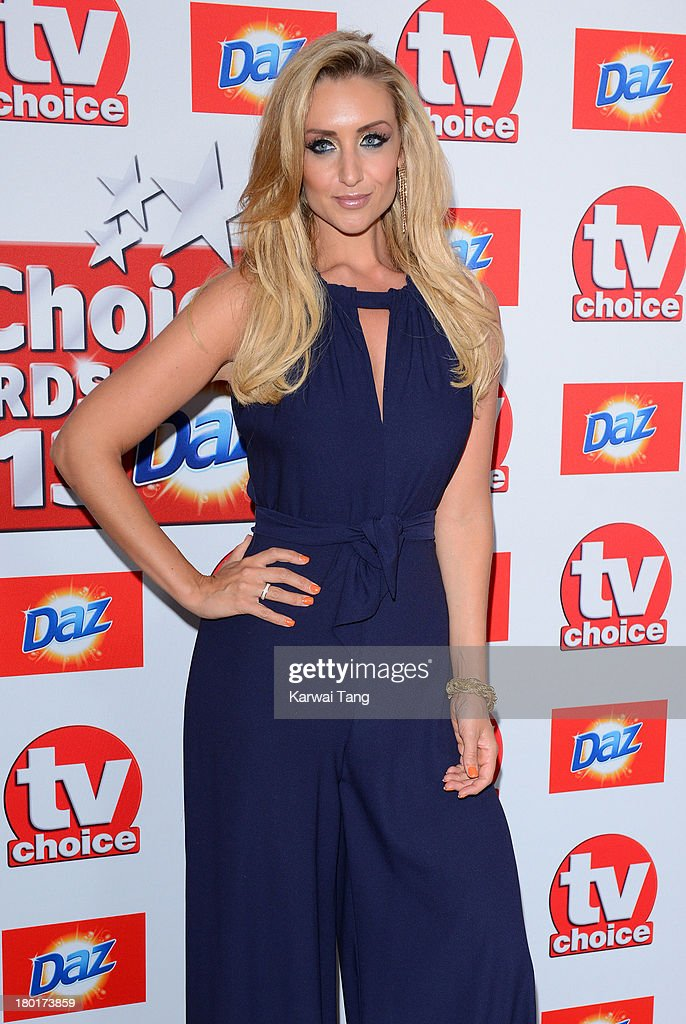 Catherine Tyldesley attends the TV Choice Awards 2013 at The Dorchester on September 9, 2013 in London, England.