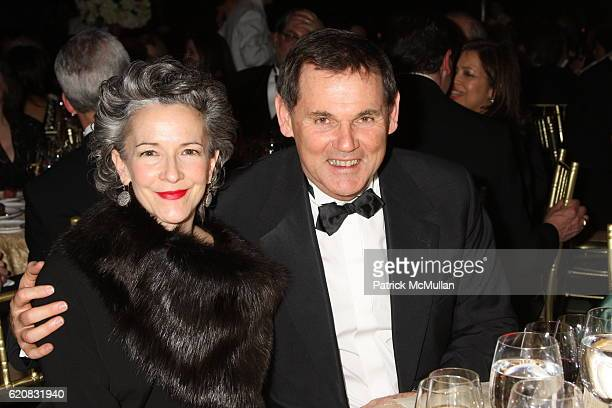 Catherine Walsh and Bernd Beetz attend March of Dimes 33rd Annual Beauty Ball at Cipriani 42nd Street on March 12 2008 in New York City