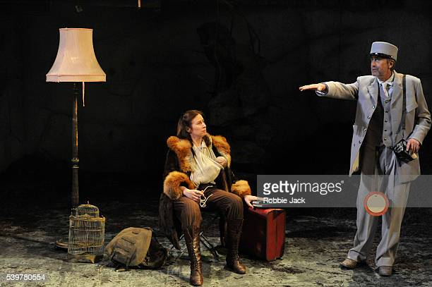 Catherine Walsh as Beatriz and Benny Young as Jazka in the National Theatre of Scotland's production of Zinnie Harris's 'The Wheel' directed by Vicky...