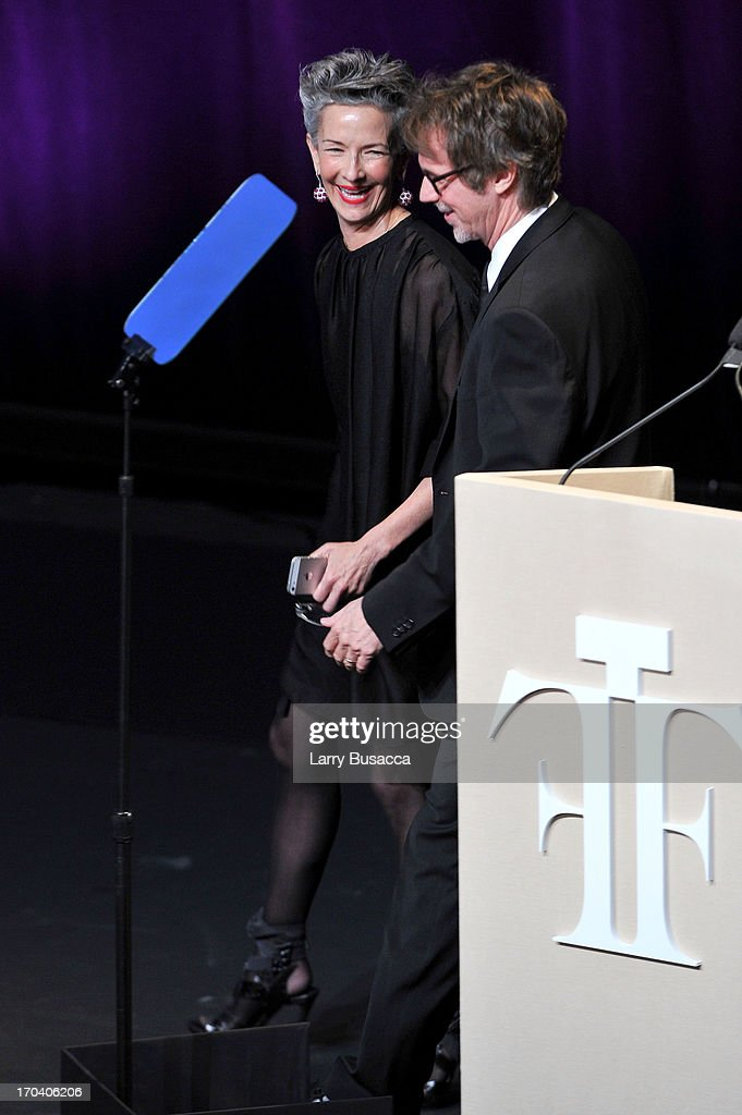 Catherine Walsh speaks onstage at the 2013 Fragrance Foundation Awards at Alice Tully Hall at Lincoln Center on June 12, 2013 in New York City.