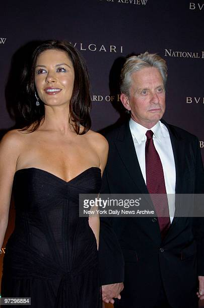 Catherine Zeta Jones and Michael Douglas at Cipriani's 42nd St for the National Board of Review of Motion Pictures Awards Gala